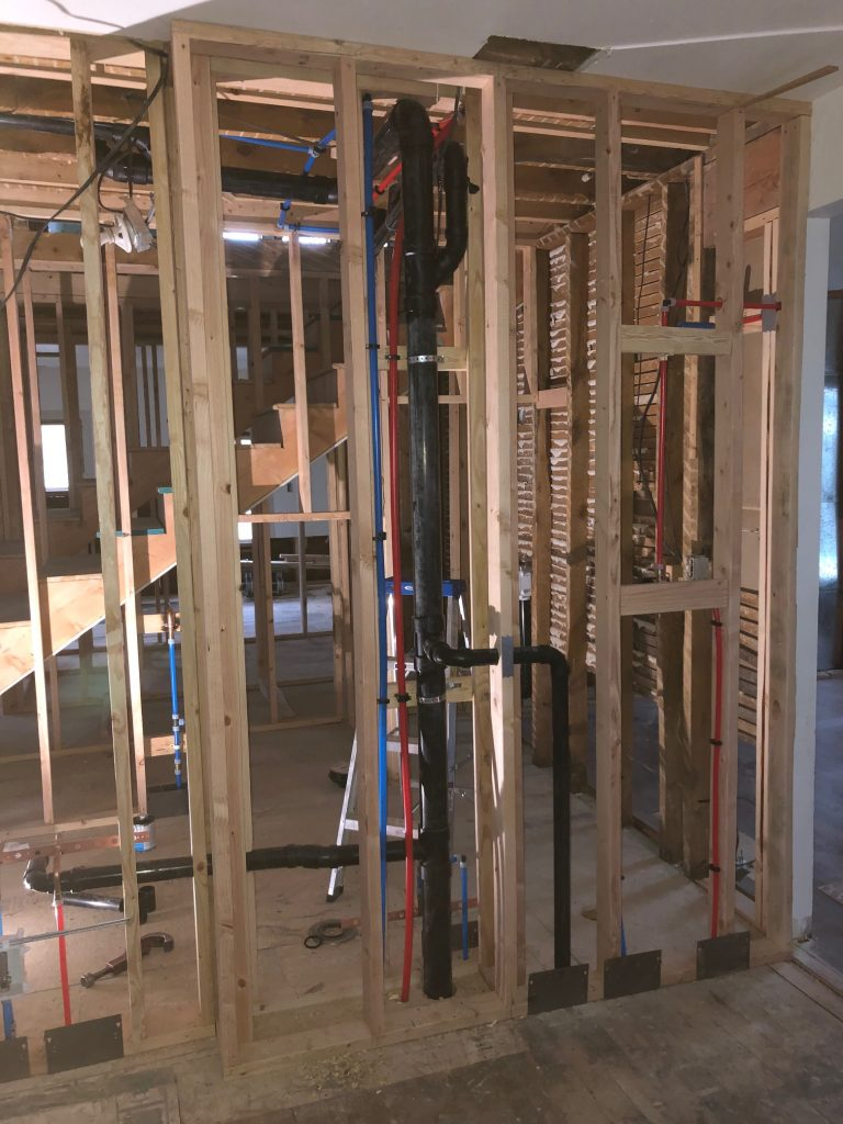 Plumber for Home Remodel