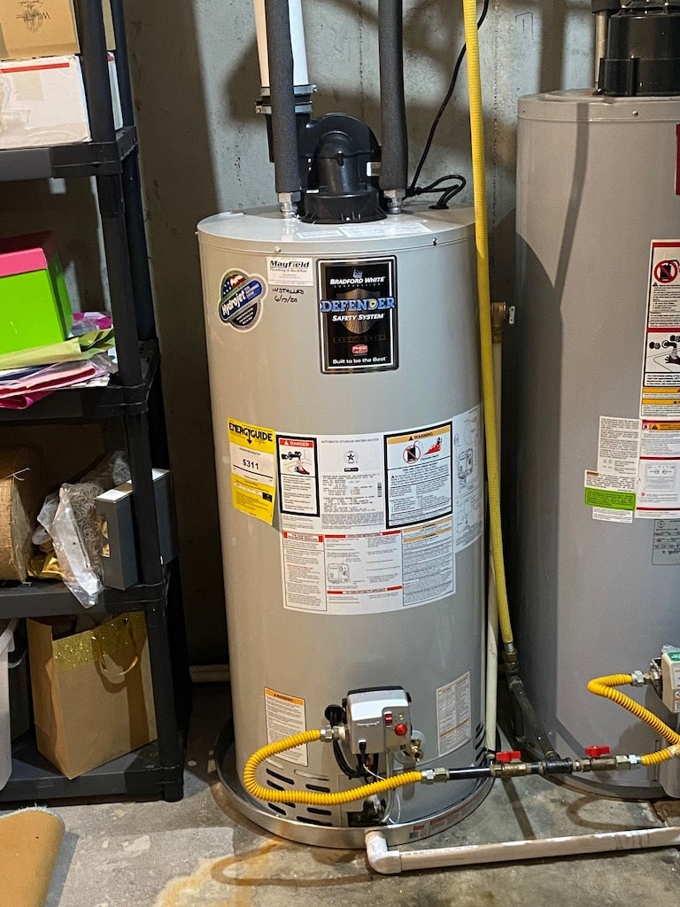 hot water heater repair, a traditional hot water heater unit
